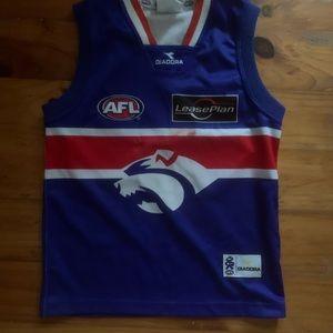 Boys AFL jersey